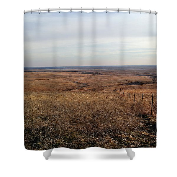 Prairie Hills To Infinity Shower Curtain