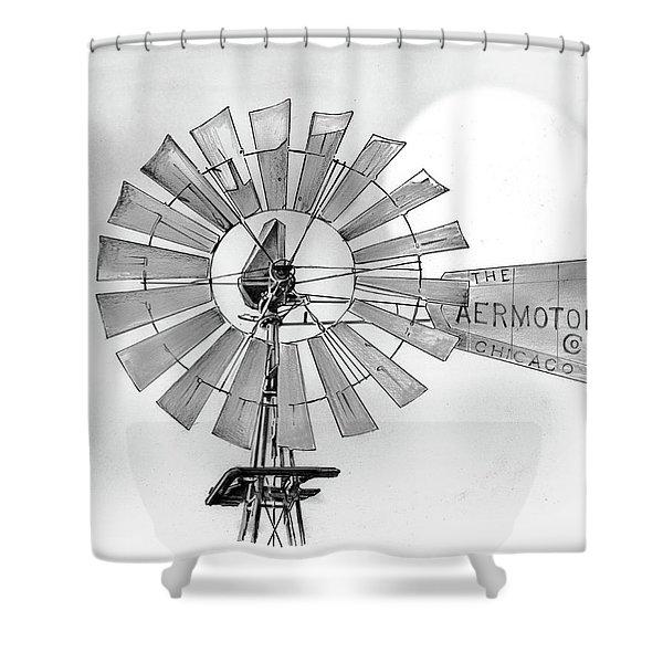 Prairie Sentinel Shower Curtain