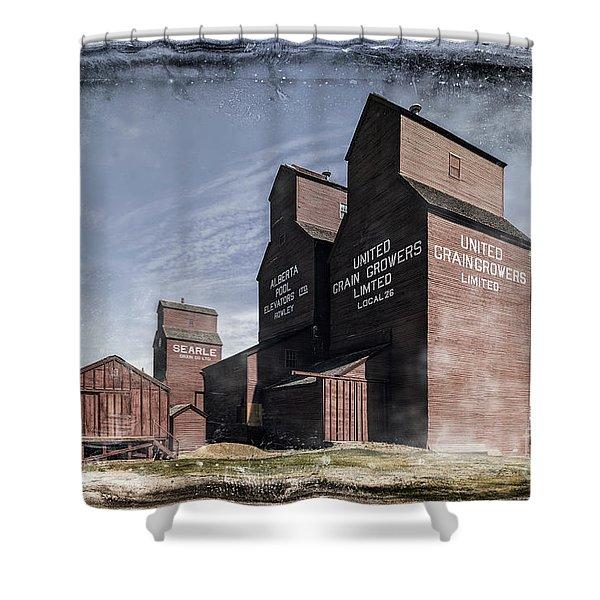 Prairie Sentinels II Shower Curtain