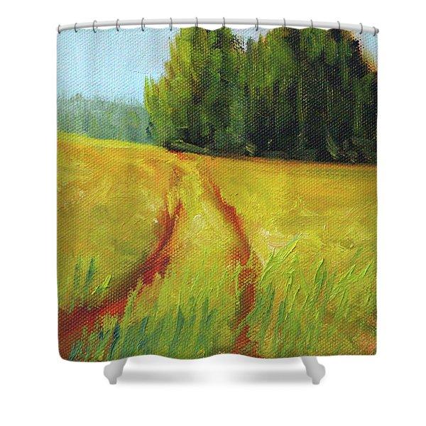 Prairie Trail Shower Curtain