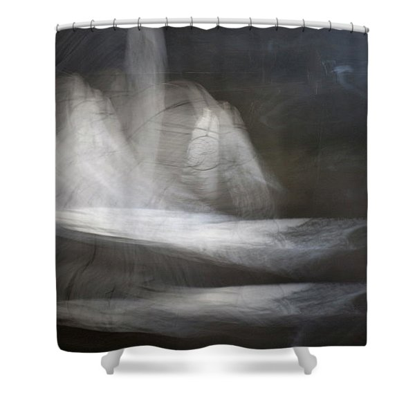 Prayer Bowlleft Shower Curtain
