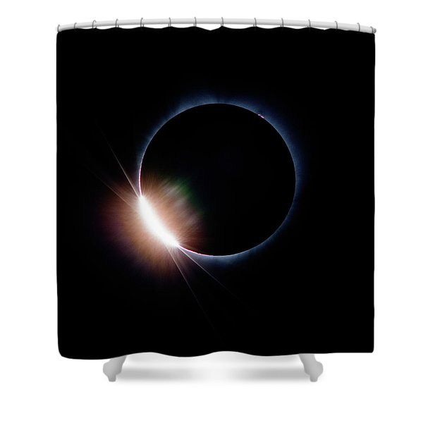Pre Daimond Ring Shower Curtain