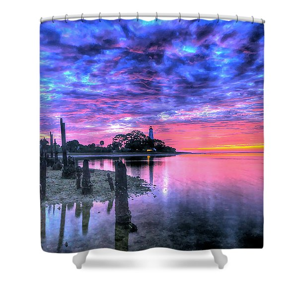 Pre Dawn At St. Marks #1 Shower Curtain