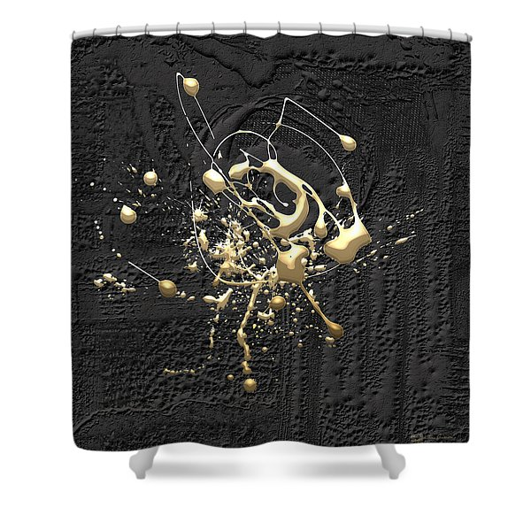 Precious Splashes - Set Of 4 Shower Curtain