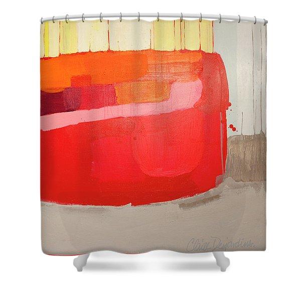 Preoccupy Shower Curtain