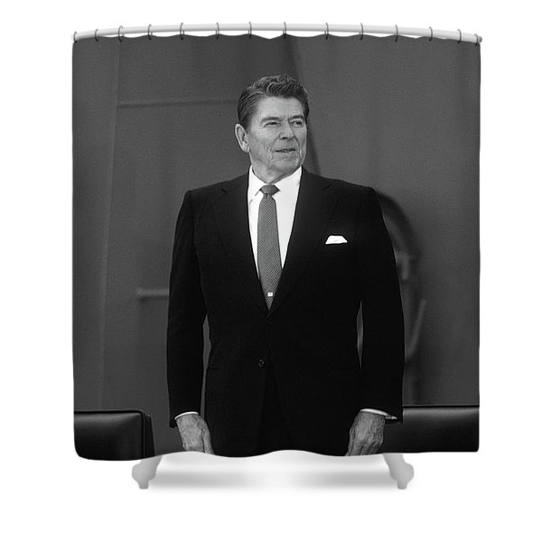 President Ronald Reagan - Two Shower Curtain