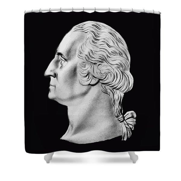 President Washington Bust  Shower Curtain