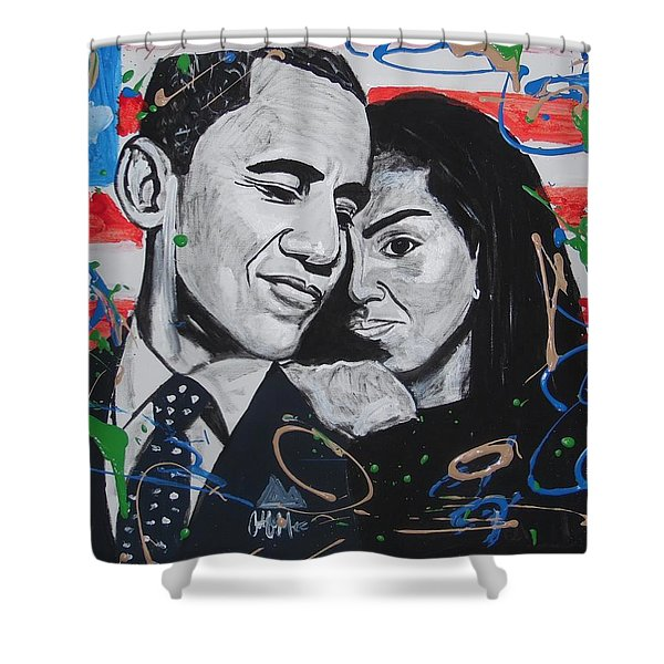 Presidential Love Shower Curtain