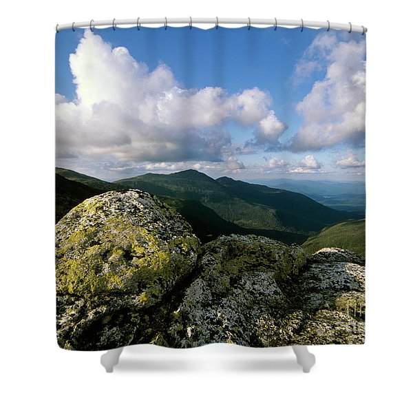 Shower Curtain featuring the photograph Presidential Range - White Mountains New Hampshire by Erin Paul Donovan