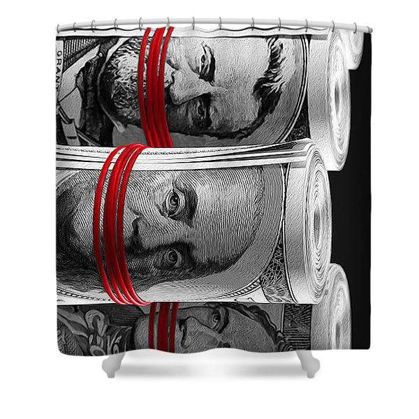 Presidents For Ransom Shower Curtain