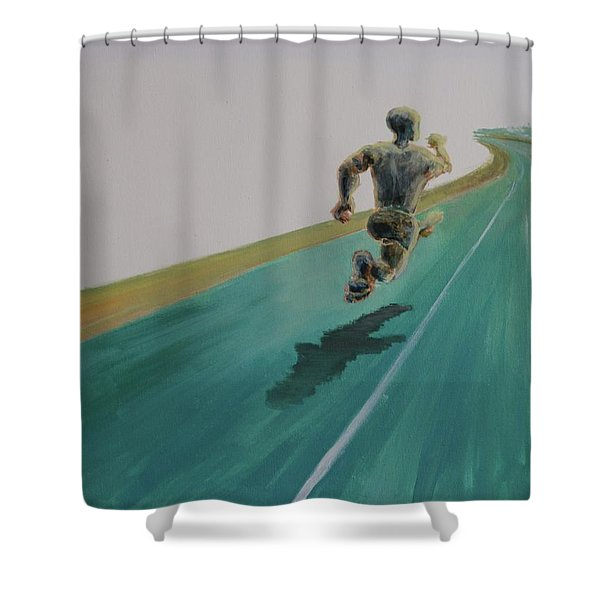Press On Shower Curtain