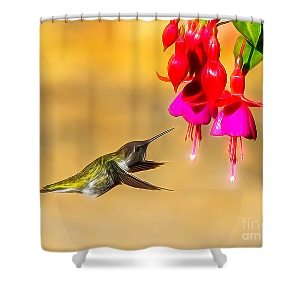 Pretty Anna Shower Curtain