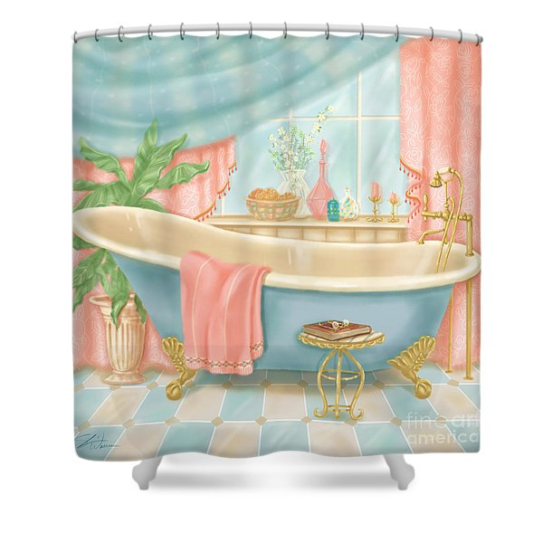 Pretty Bathrooms I Shower Curtain
