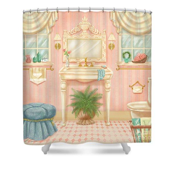Pretty Bathrooms IIi Shower Curtain