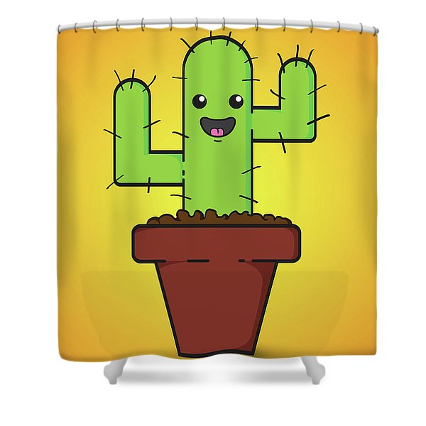 Prickle Shower Curtain