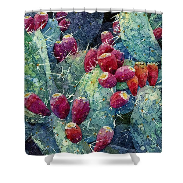 Prickly Pear 2 Shower Curtain