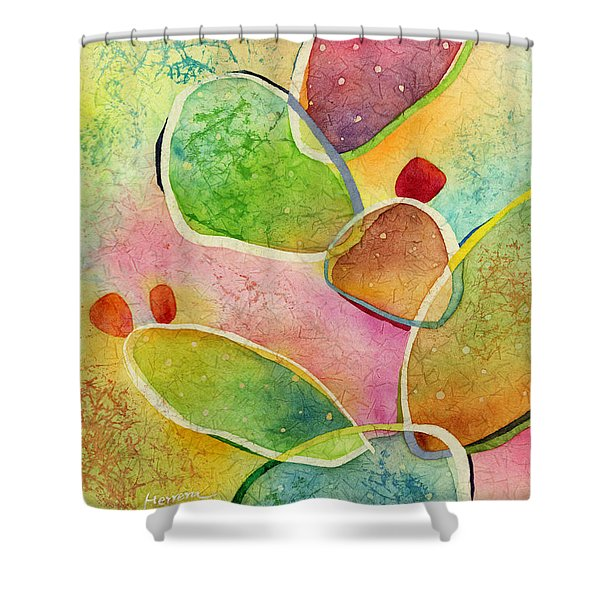Prickly Pizazz 1 Shower Curtain