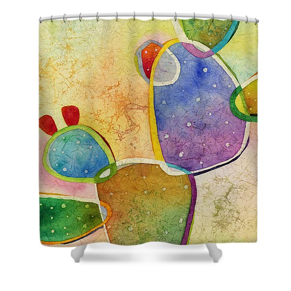 Prickly Pizazz 3 Shower Curtain