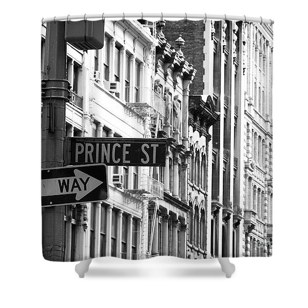 Prince Street Shower Curtain