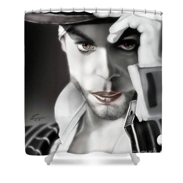 Prince The Eyes Have It 1a Shower Curtain