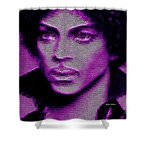 Prince - Tribute In Purple Shower Curtain