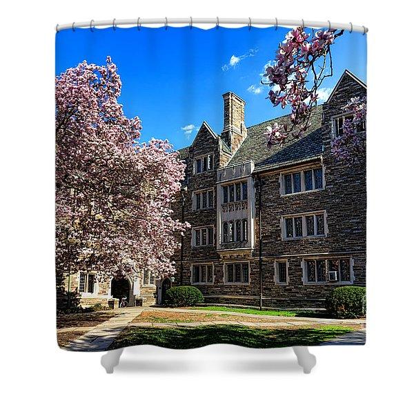 Princeton University Pyne Hall Courtyard Shower Curtain