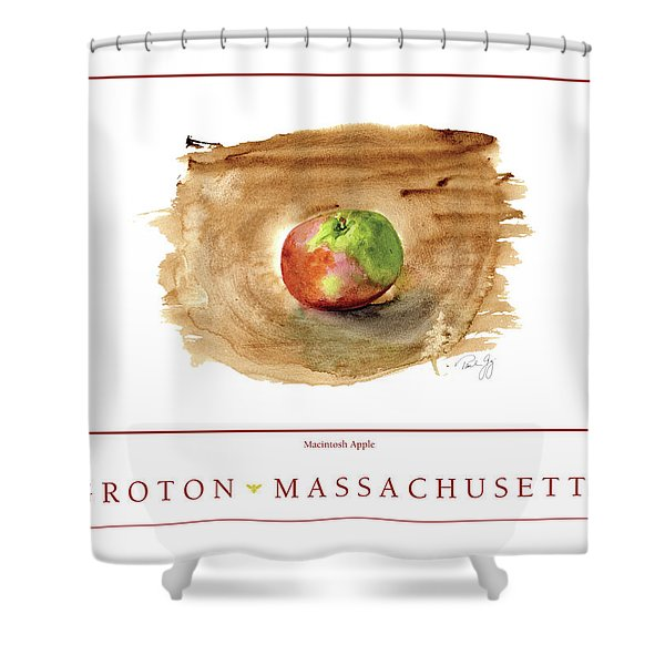 Groton, Massachusetts Shower Curtain
