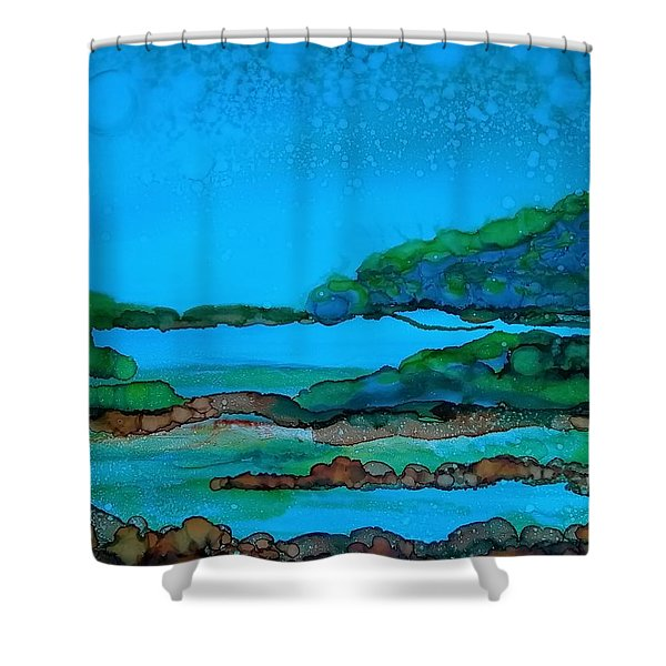 Private Property Shower Curtain