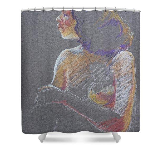 Profile 2 Shower Curtain