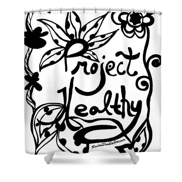 Project Healthy Shower Curtain
