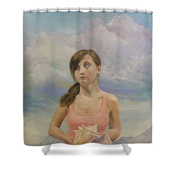 Promethea Shower Curtain