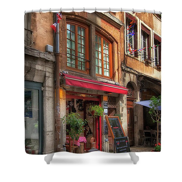 French Cafe Shower Curtain