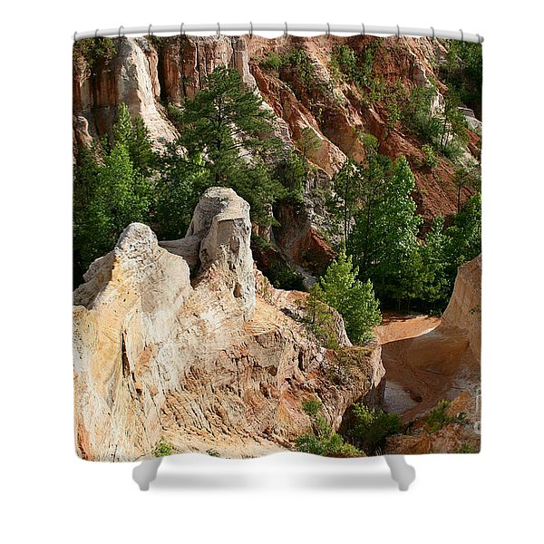 Providence Canyon Shower Curtain