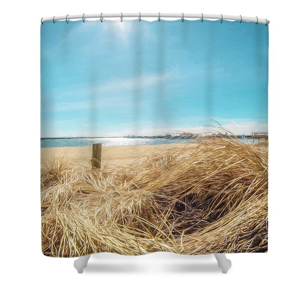 Provincetown Harbor Shower Curtain