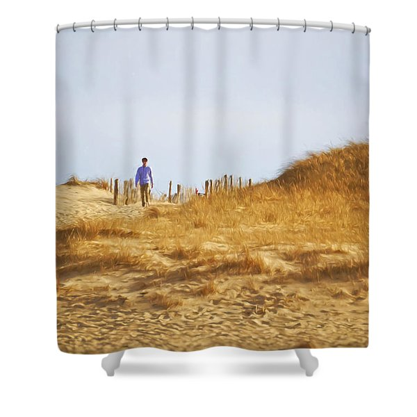 Provincetown I Shower Curtain