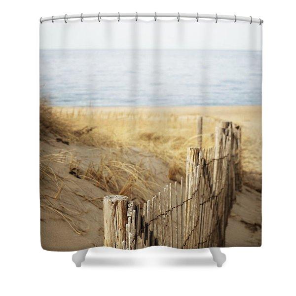 Provincetown II Shower Curtain
