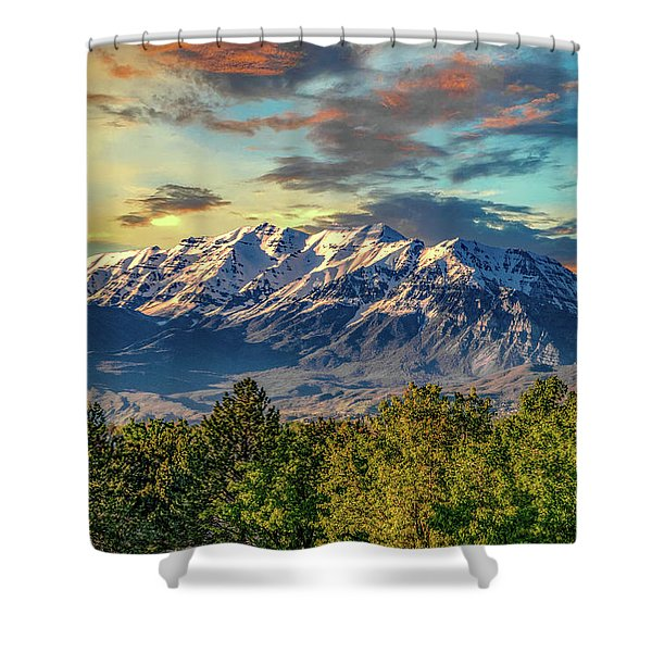 Provo Peaks Shower Curtain
