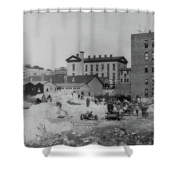 Ps 52  Shower Curtain