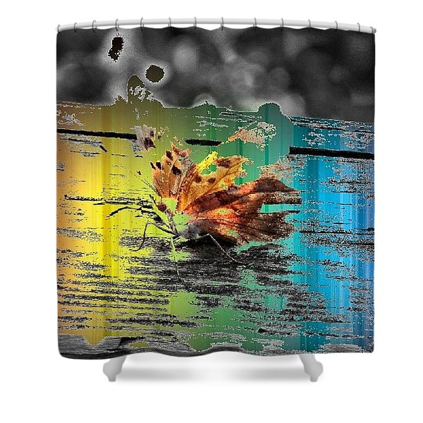 Psychadelic Butterfly Shower Curtain