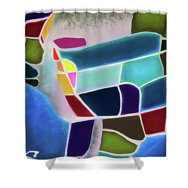 Psyche Shower Curtain