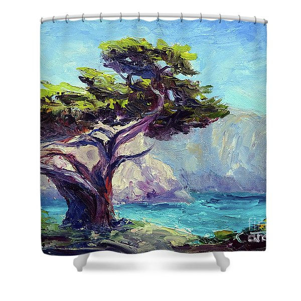 Pt. Lobos Beauty Shower Curtain