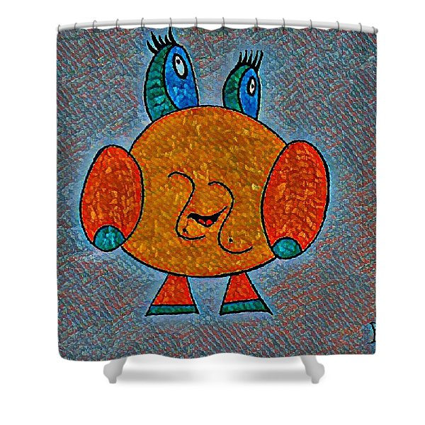 Puccy Shower Curtain