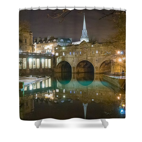 Pulteney Bridge, Bath Shower Curtain