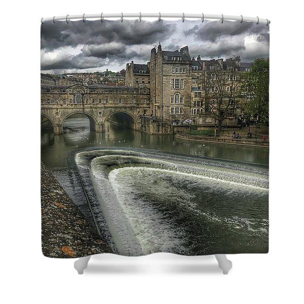 Pulteney Bridge Shower Curtain