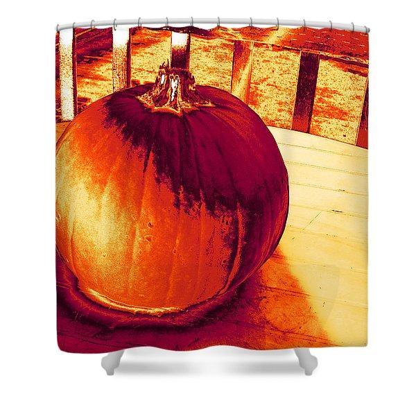 Pumpkin #3 Shower Curtain
