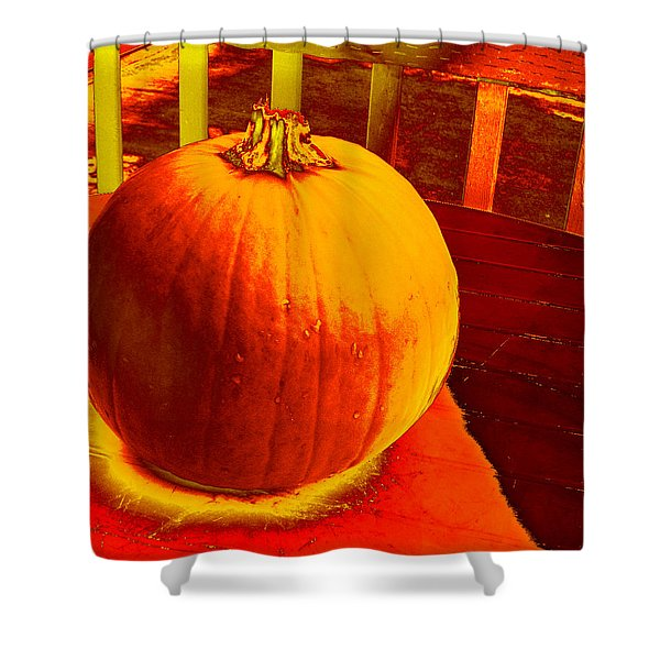 Pumpkin #4 Shower Curtain