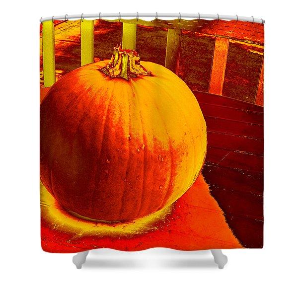 Pumpkin #4 Shower Curtain