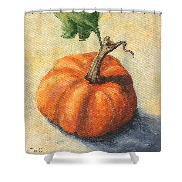Pumpkin Everything Shower Curtain