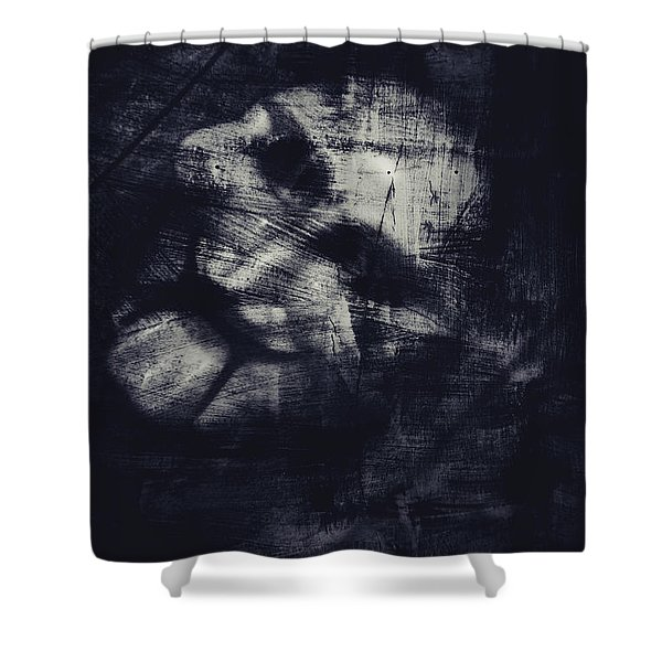 Puppet Mask Behind The Veil Shower Curtain