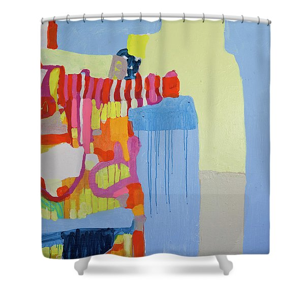 Puppetmaster Shower Curtain